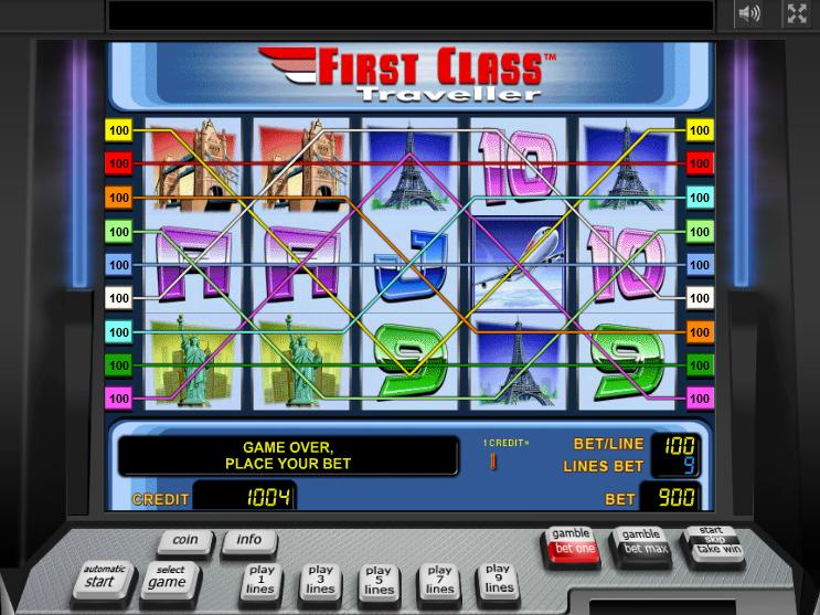 play First Class Traveller online