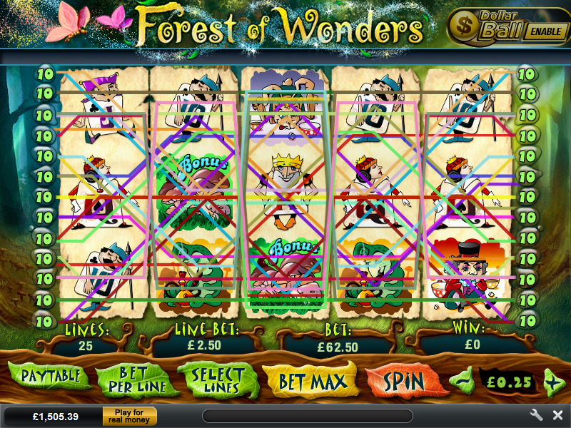 play Forest of Wonders online