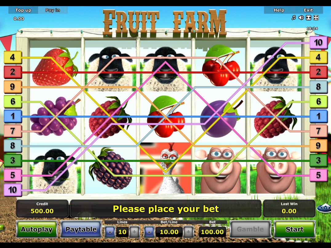 Jetzt Fruit Farm online spielen