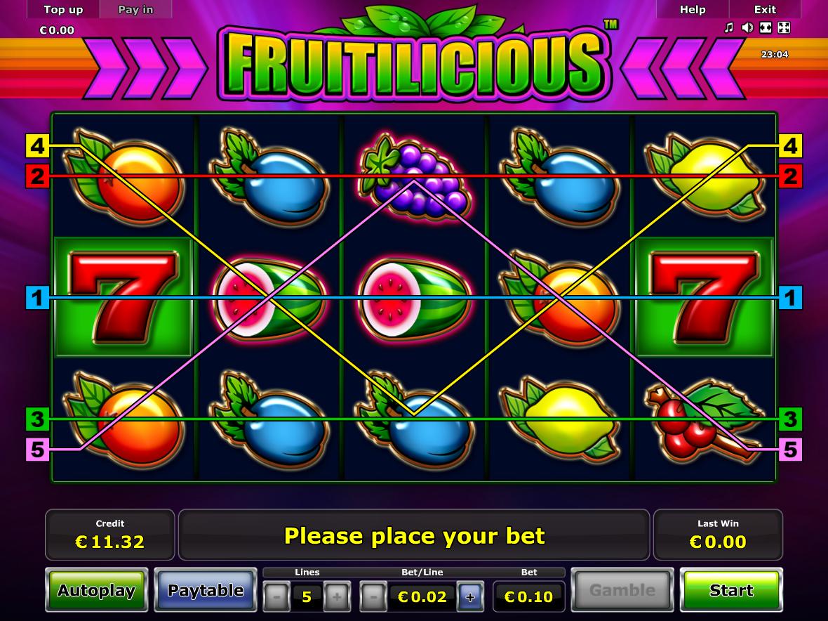 Jetzt Fruitilicious online spielen