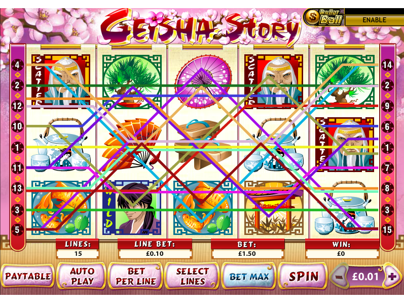 play Geisha Story online