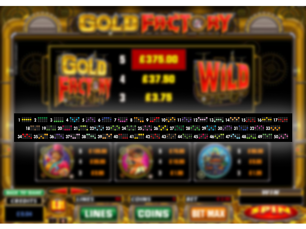 play Gold Factory online