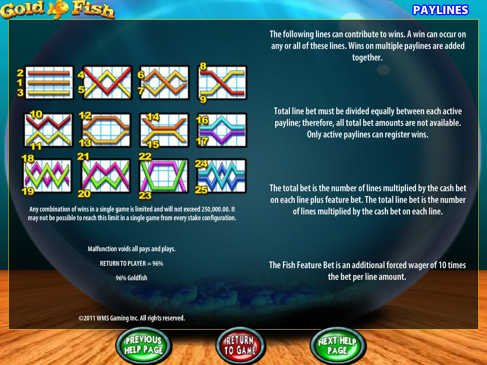 play Gold Fish online