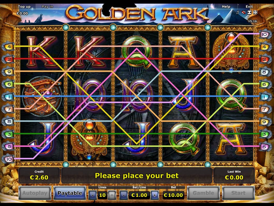 Jetzt Golden Ark online spielen