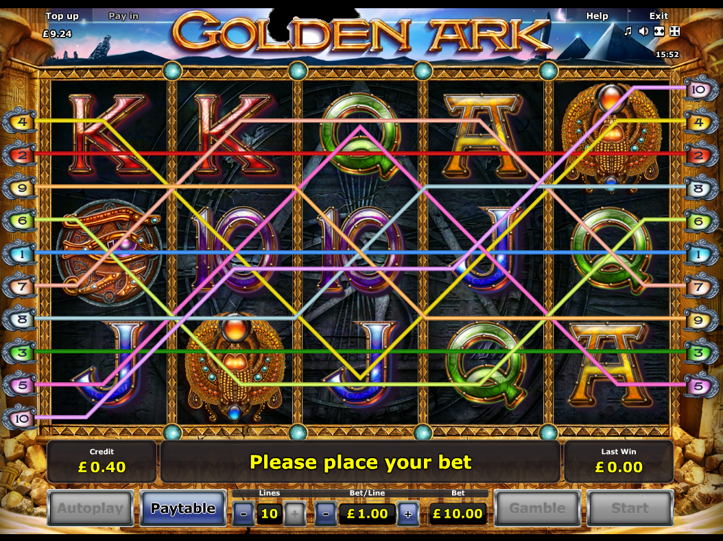 play Golden Ark online