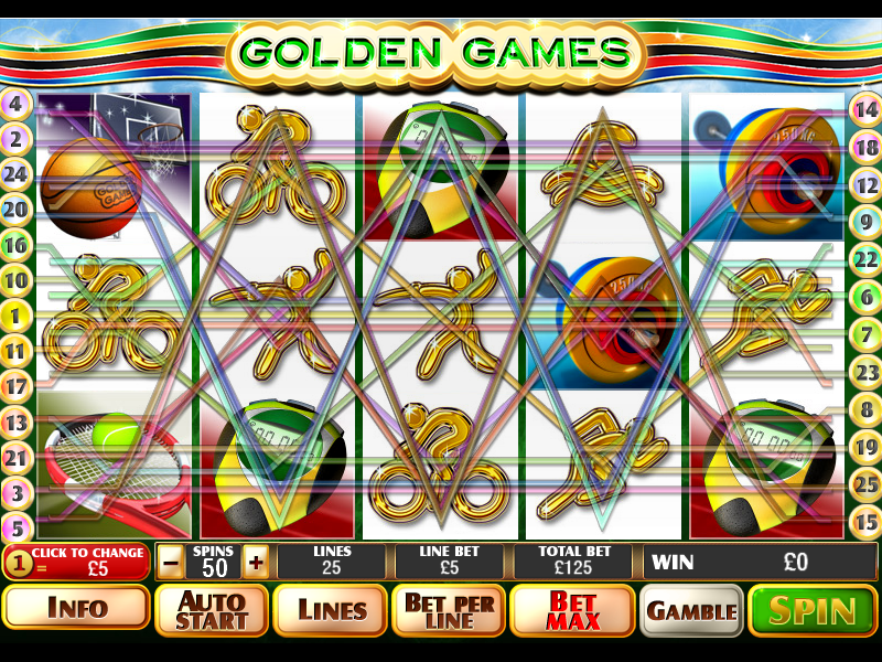 play Golden Games online