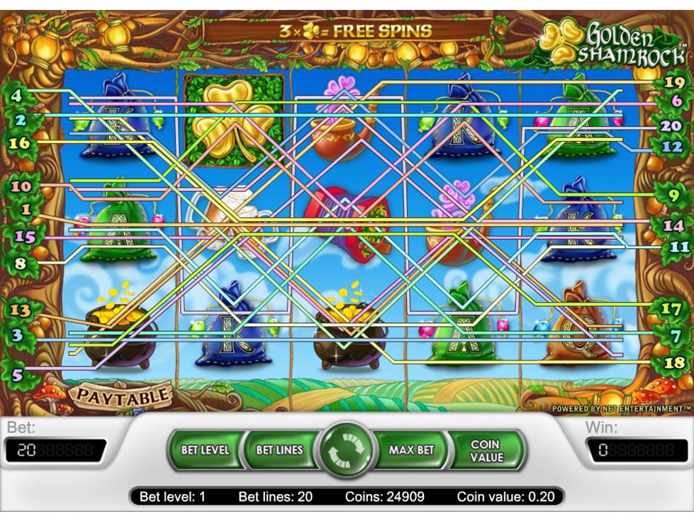 Jetzt Golden Shamrock online spielen