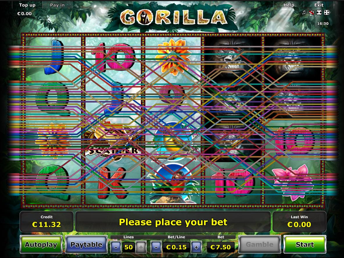 Jetzt Gorilla online spielen