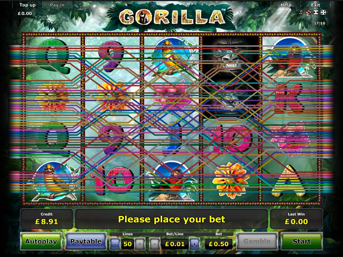 play Gorilla online