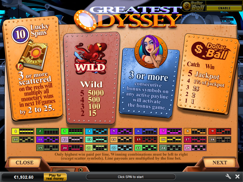 Jetzt Greatest Odyssey online spielen