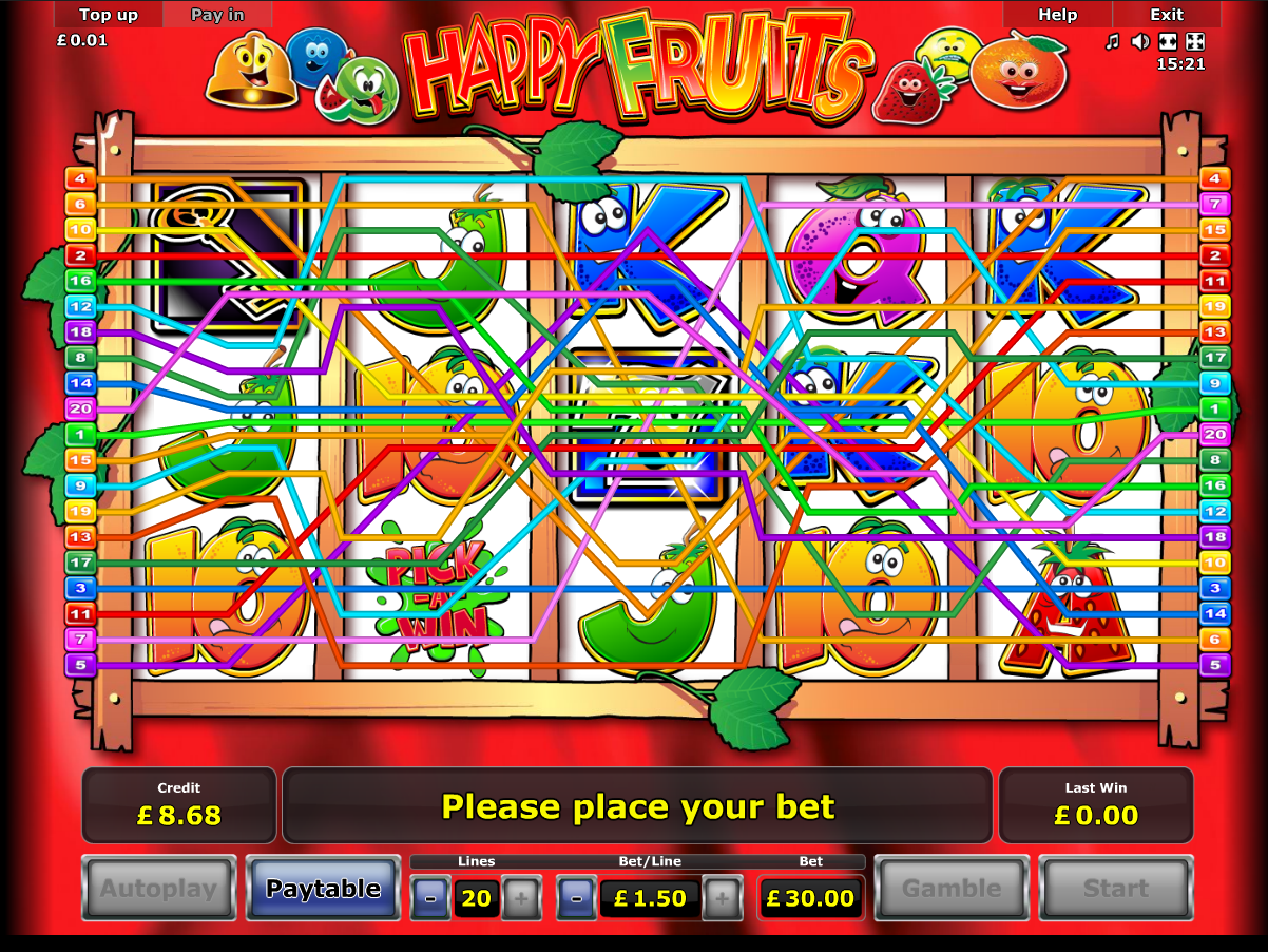 play Happy Fruits online