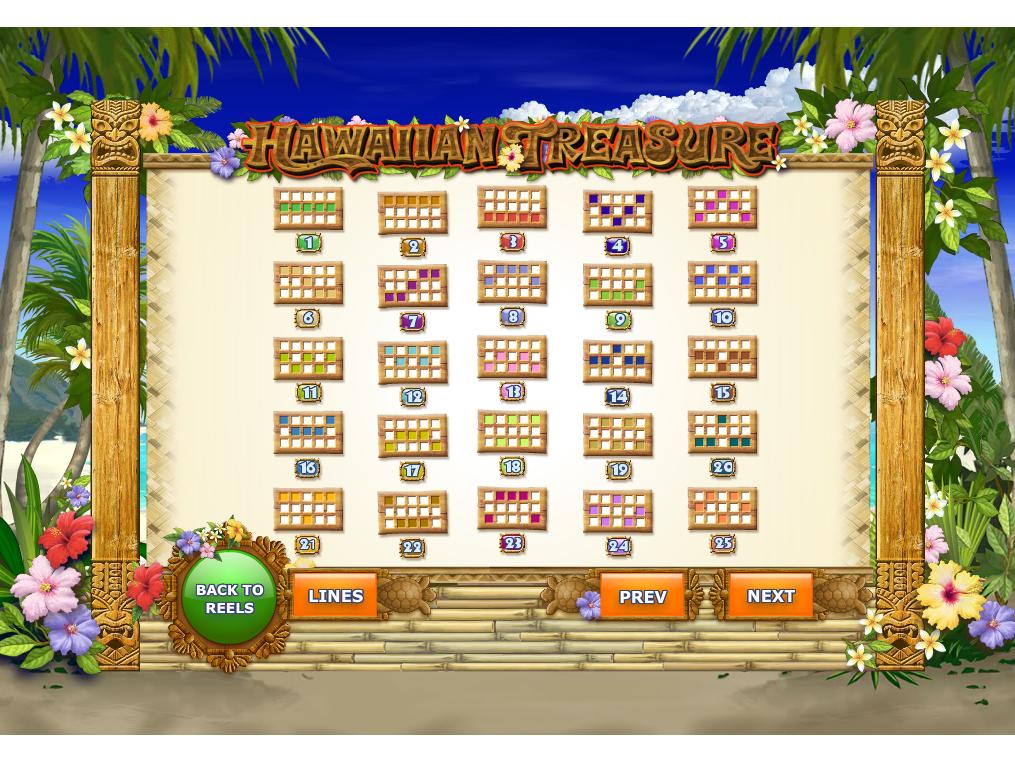 play Hawaiian Treasure online