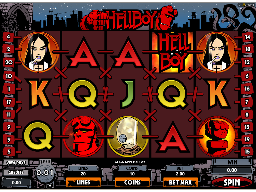 Jetzt Hellboy online spielen