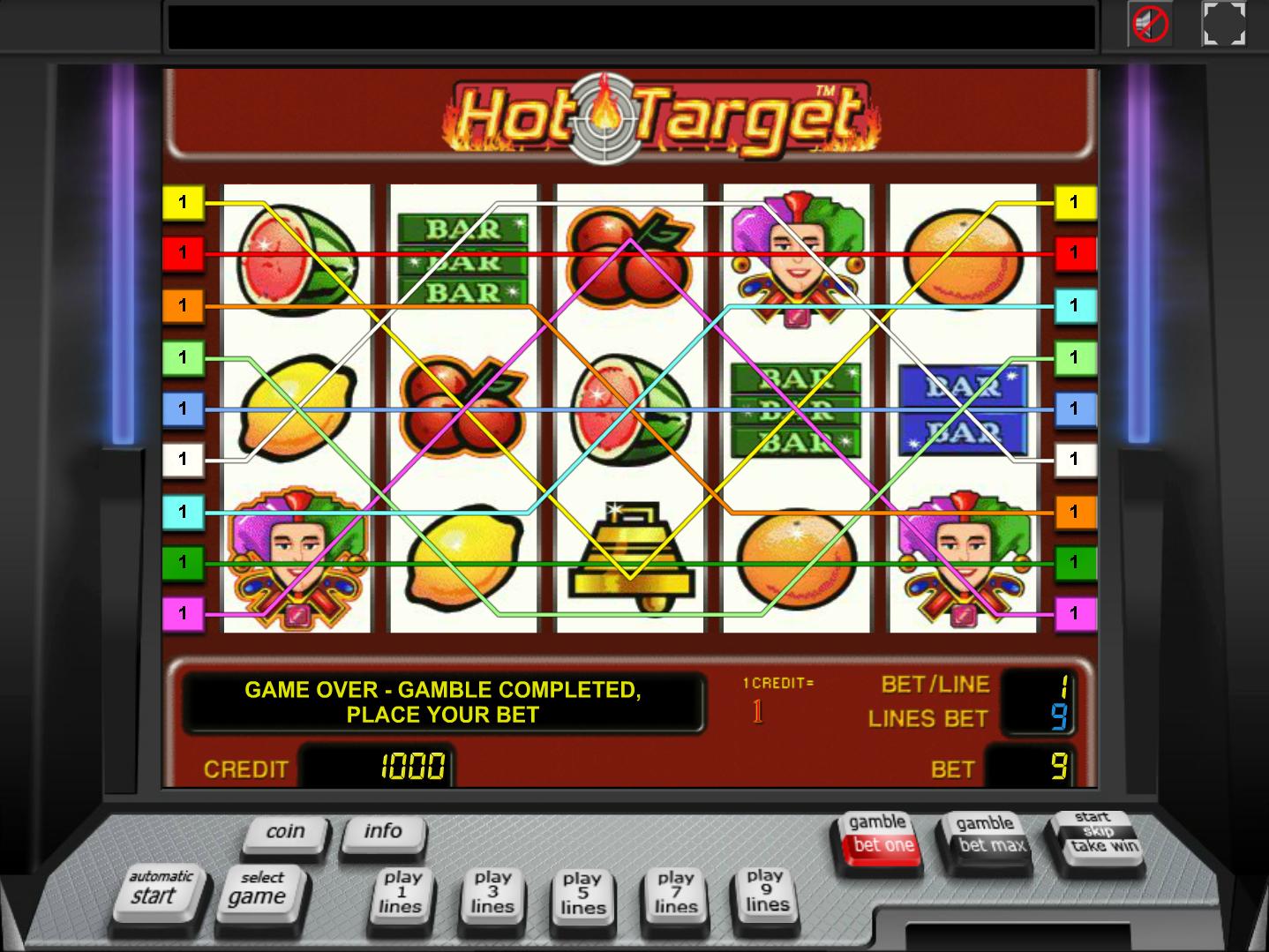 Jetzt Hot Target online spielen
