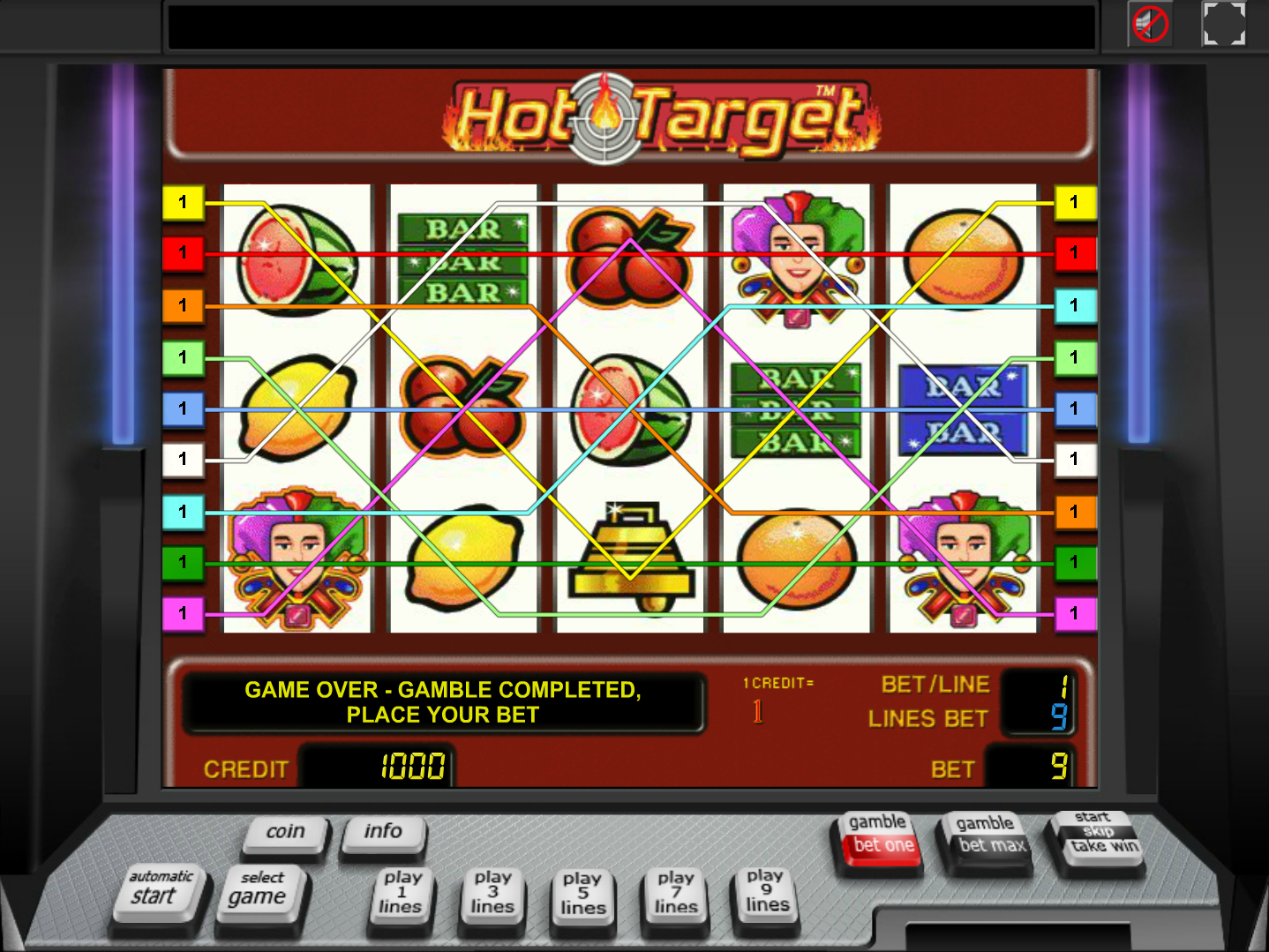 play Hot Target online