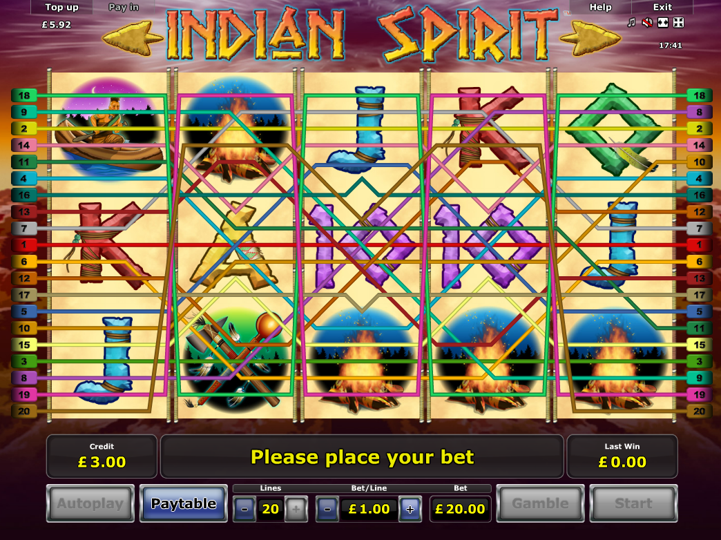 play Indian Spirit online