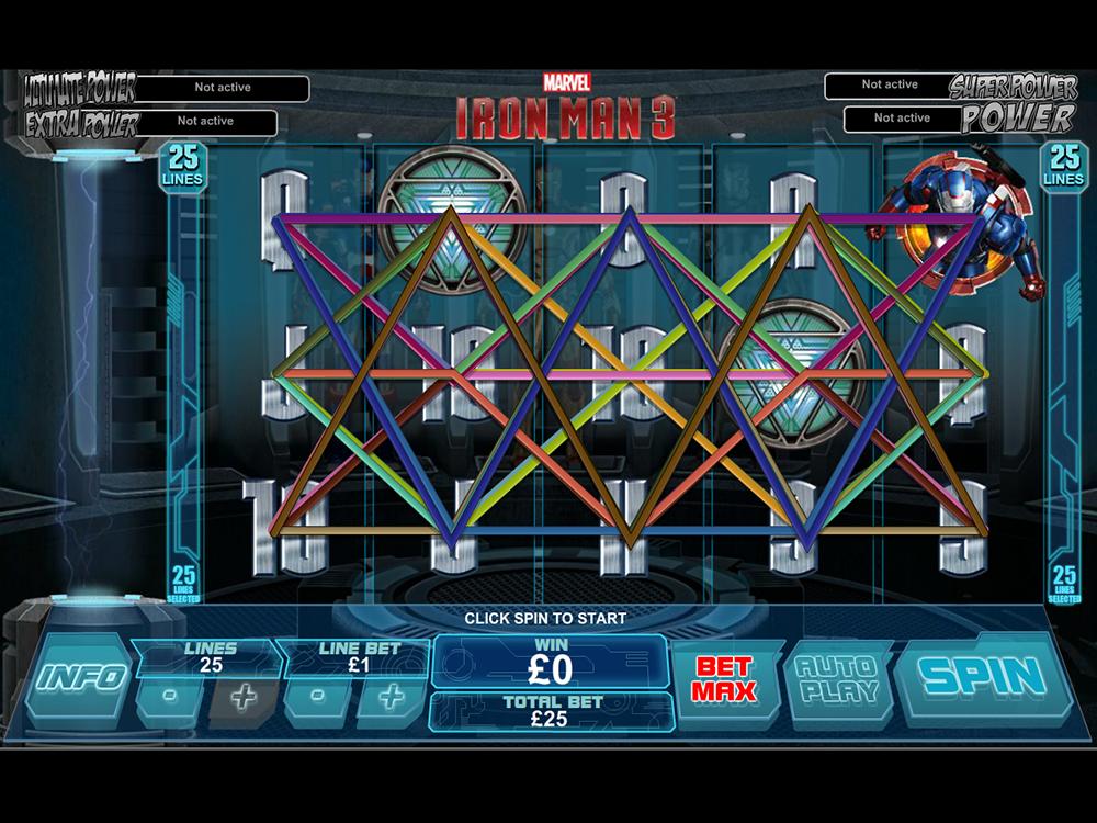 play Iron Man 3 online