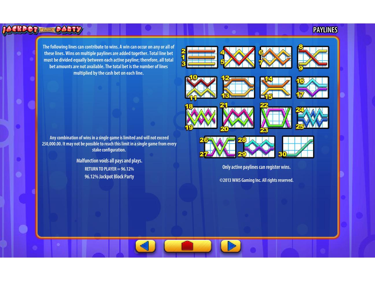 play Jackpot Block Party online