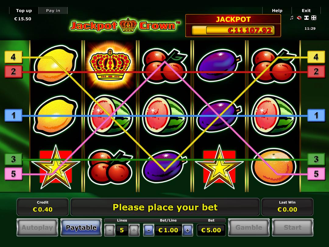 Jetzt Jackpot Crown online spielen