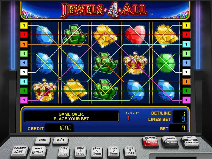Jetzt Jewels 4 All online spielen