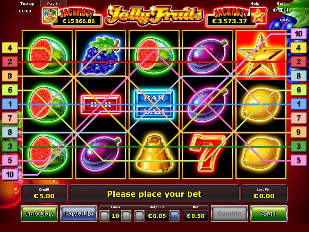 Jetzt Jolly Fruits online spielen