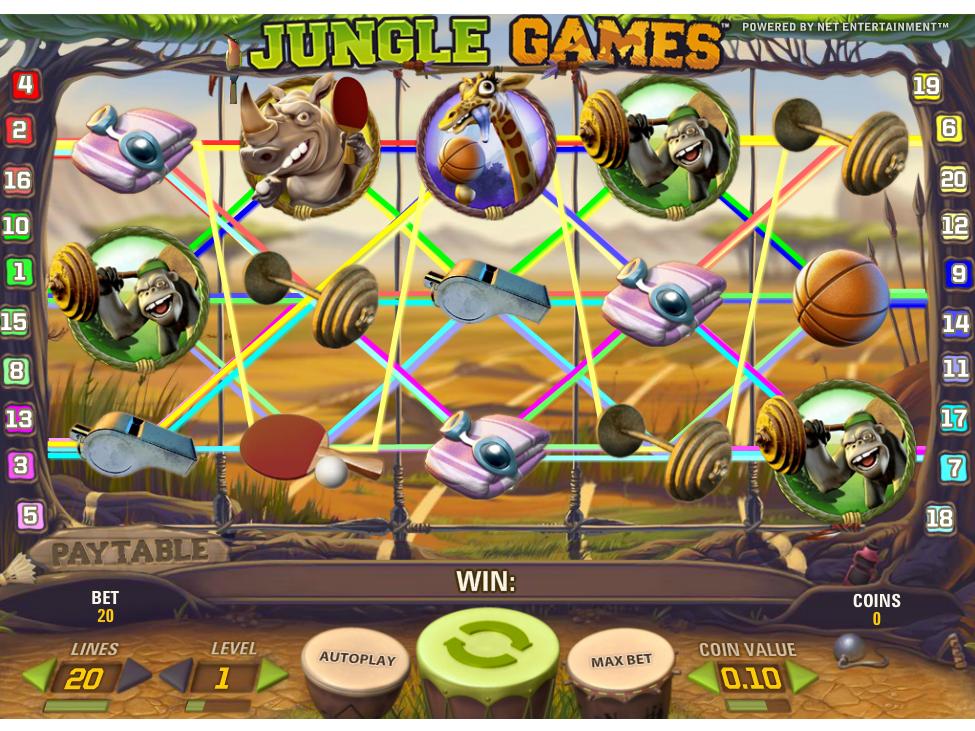 Jetzt Jungle Games online spielen