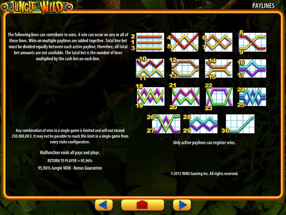 Jetzt Jungle Wild online spielen