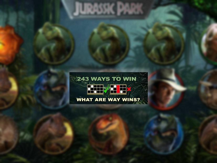 Jetzt Jurassic Park Slot online spielen
