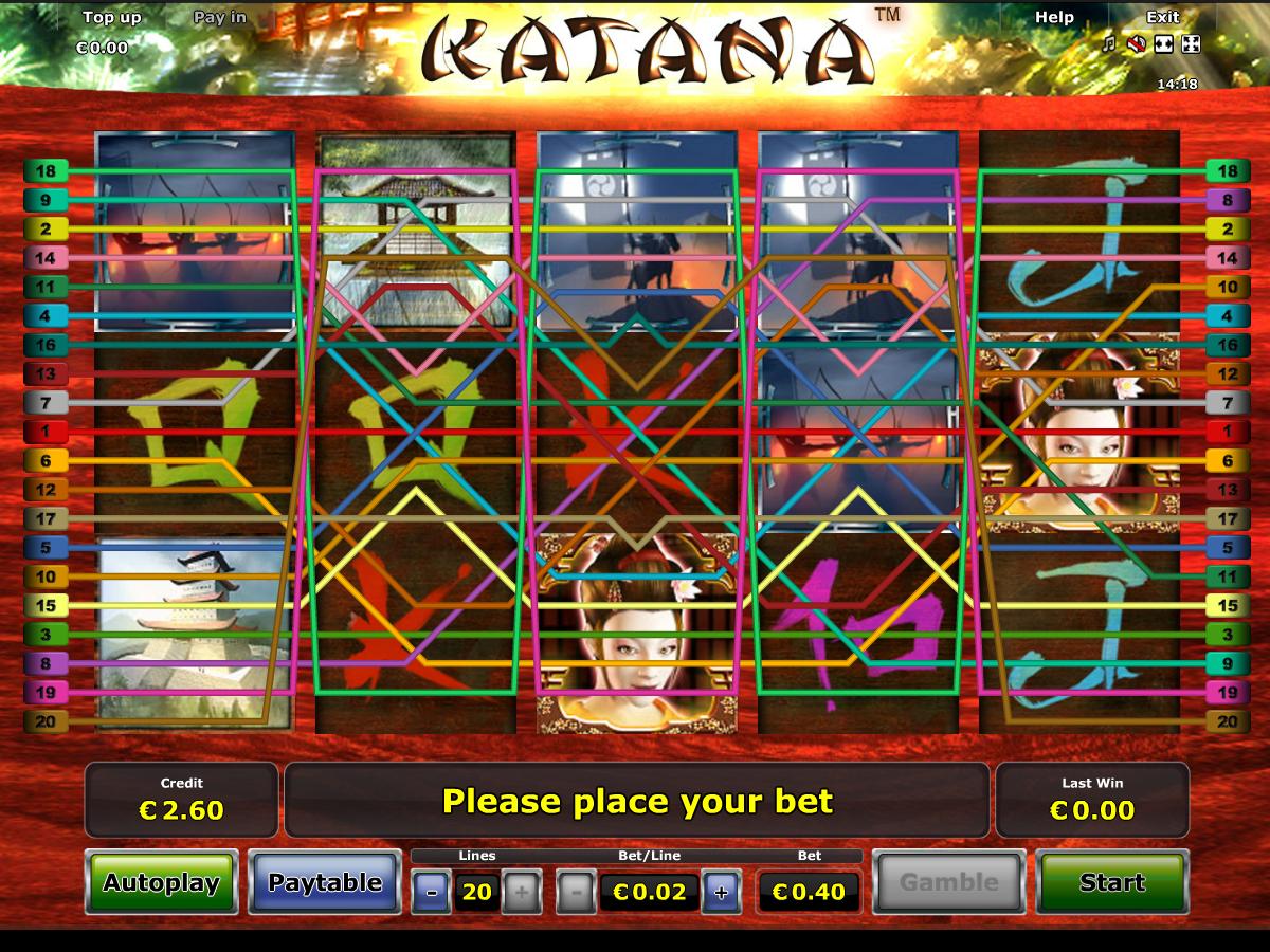 Jetzt Katana online spielen
