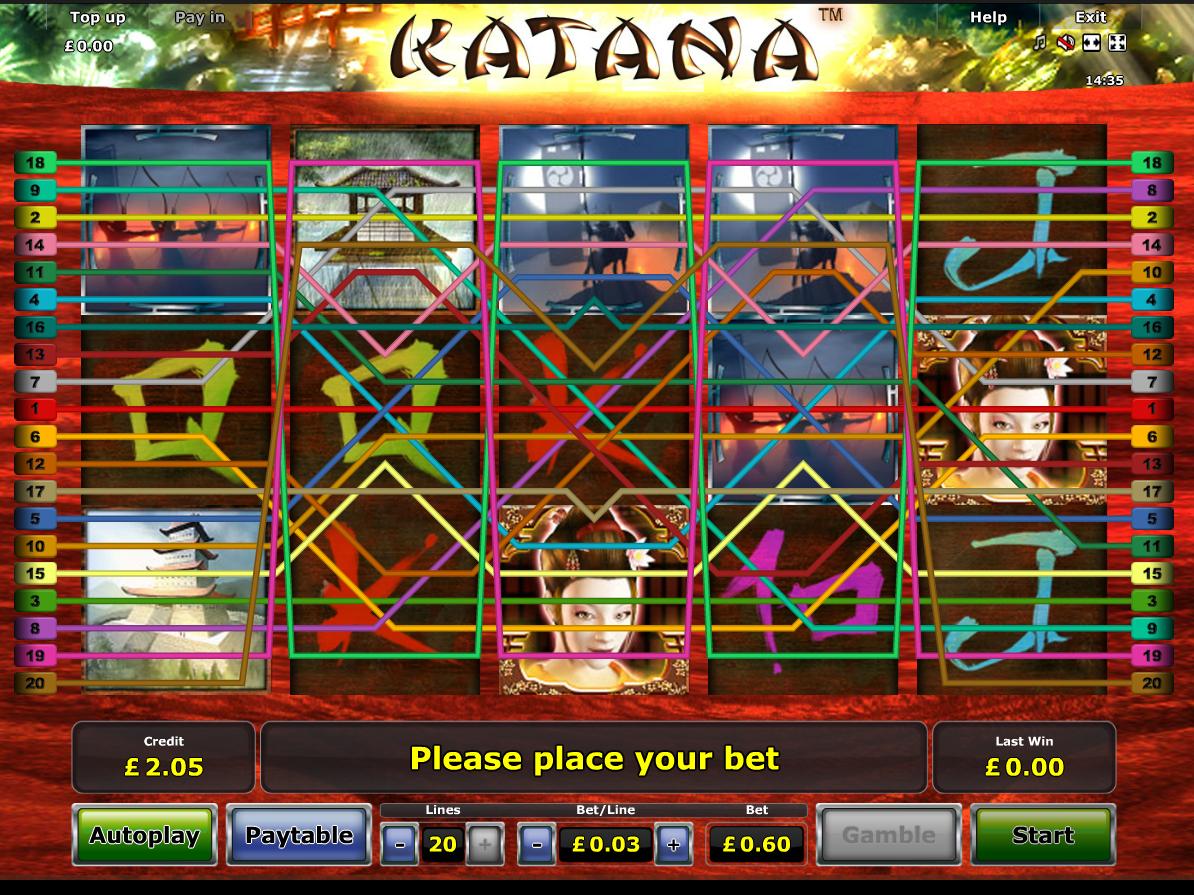 play Katana online