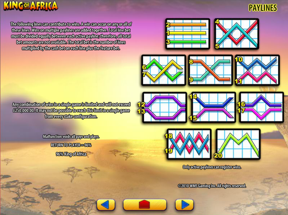 play King of Africa online