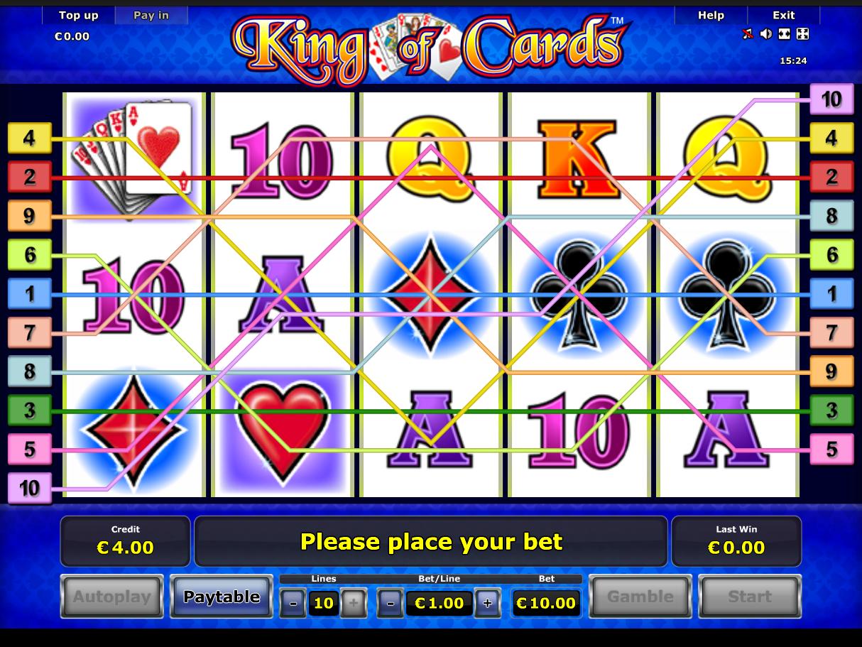 Jetzt King of Cards online spielen