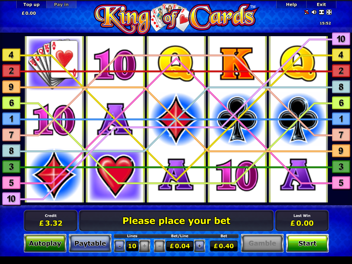 play King of Cards online
