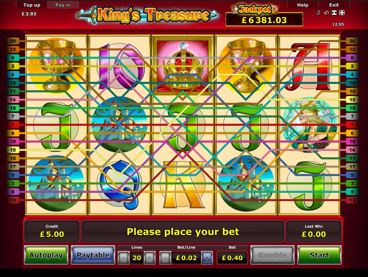 play King's Treasure online