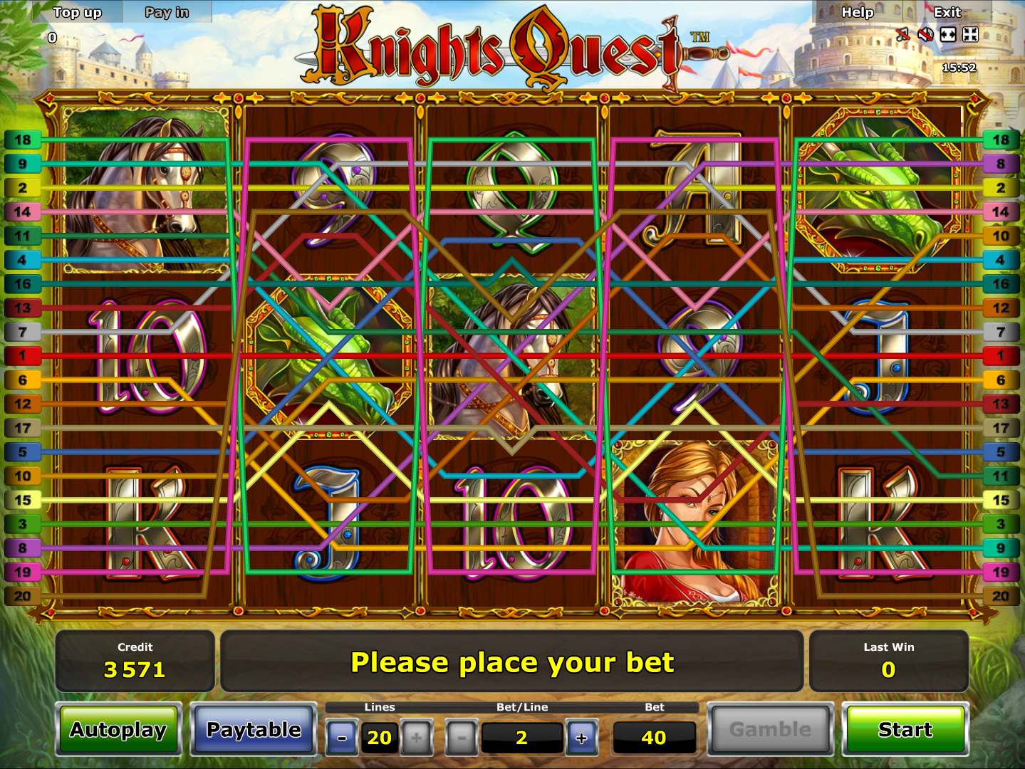 play Knights Quest online