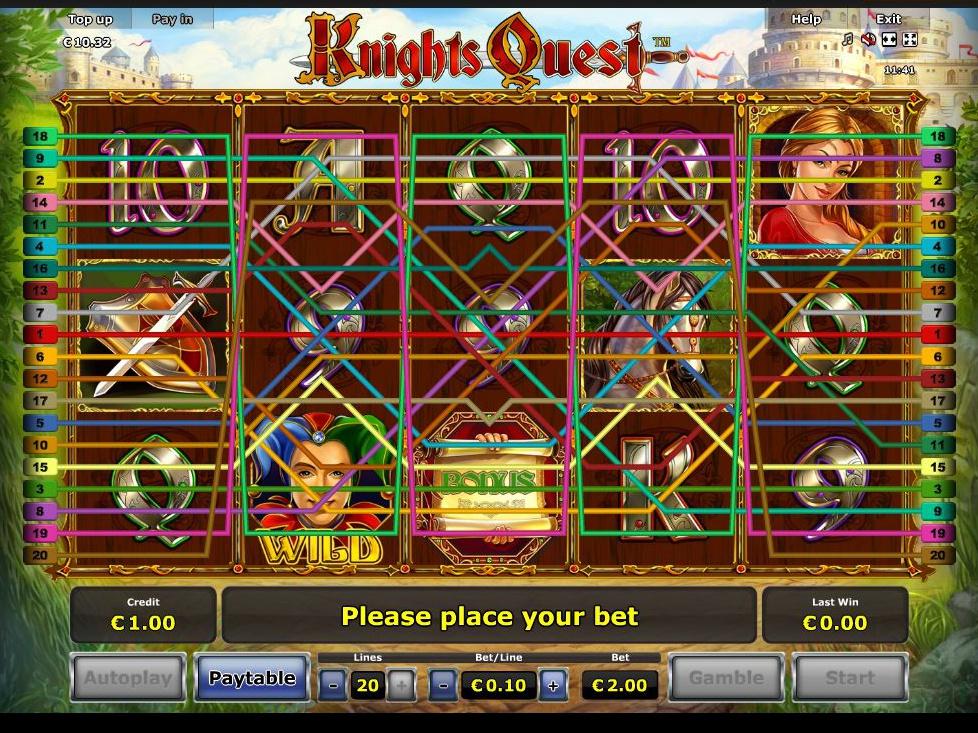 Jetzt Knights Quest online spielen