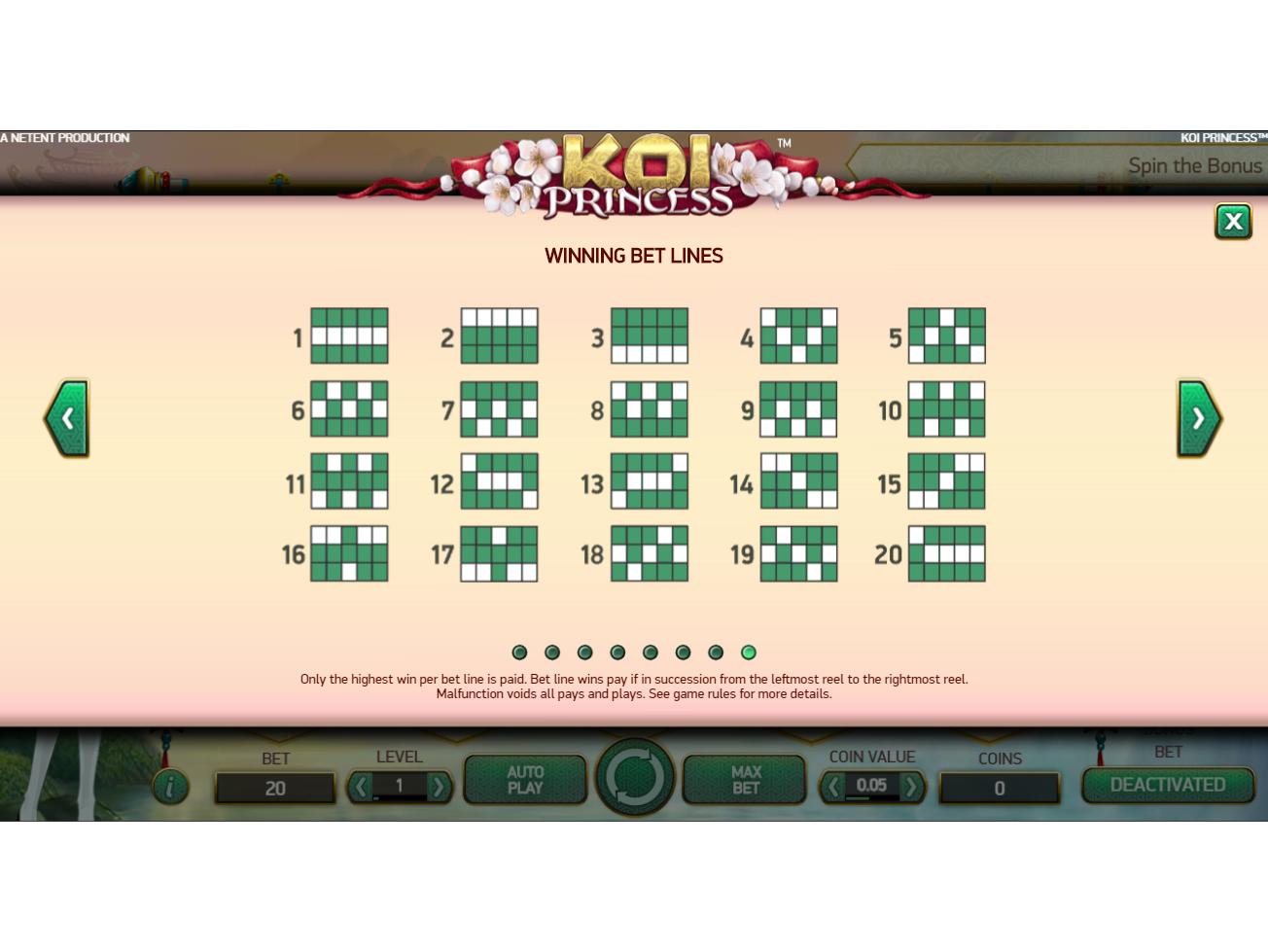 Jetzt Koi Princess online spielen