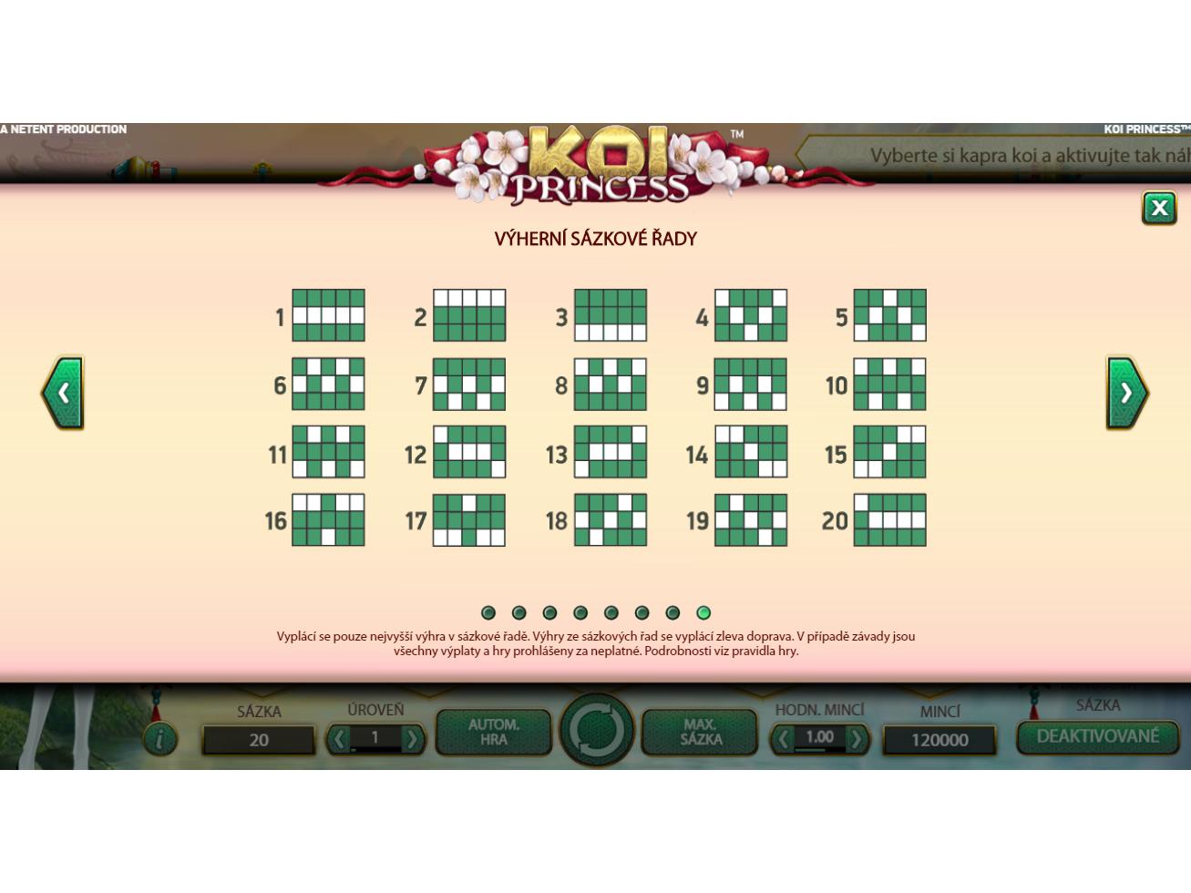 Koi Princess online za skutečné peníze
