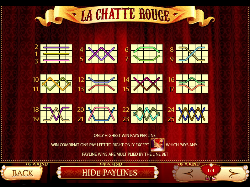 play La Chatte Rouge online