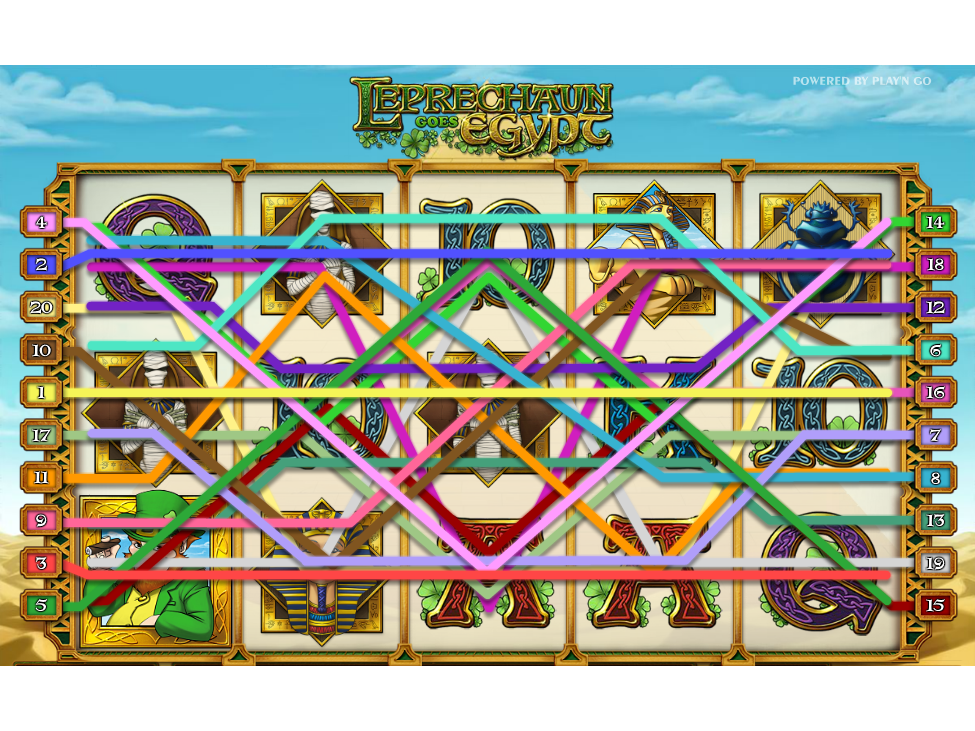Jetzt Leprechaun Goes Egypt online spielen