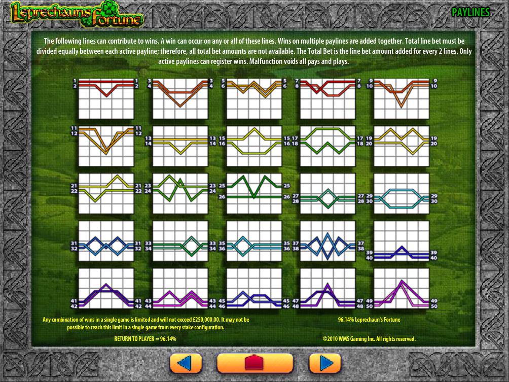 play Leprechaun's Fortune online