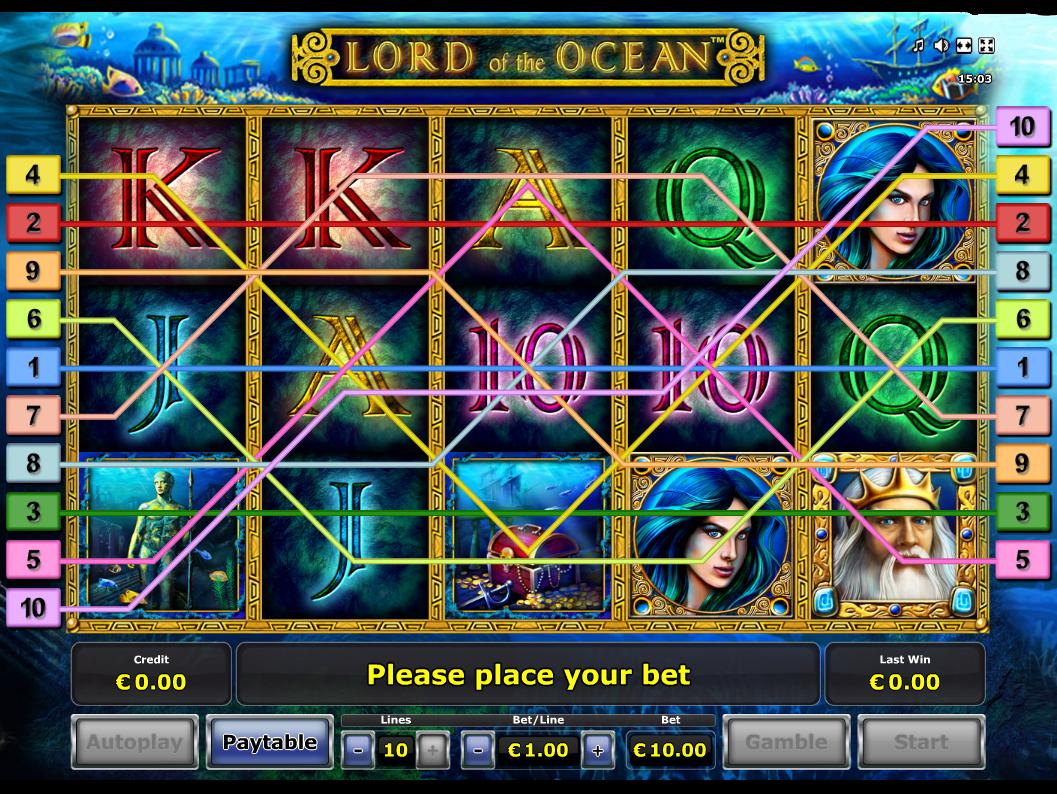 Jetzt Lord of the Ocean online spielen