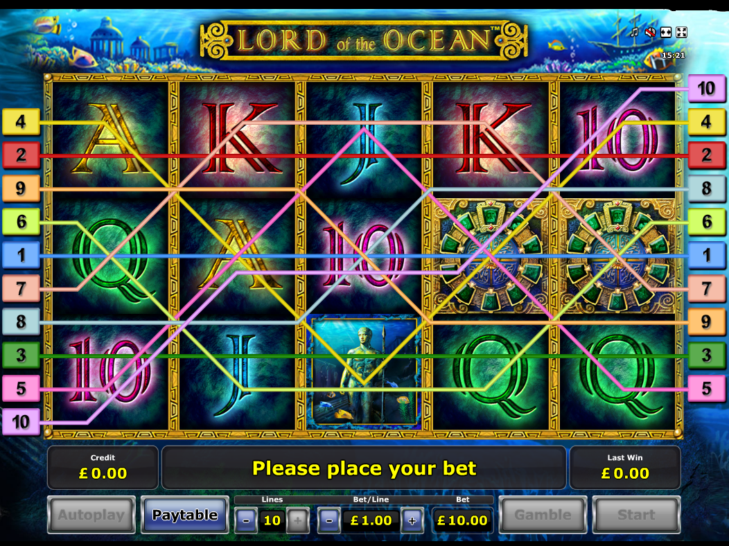 play Lord of the Ocean online
