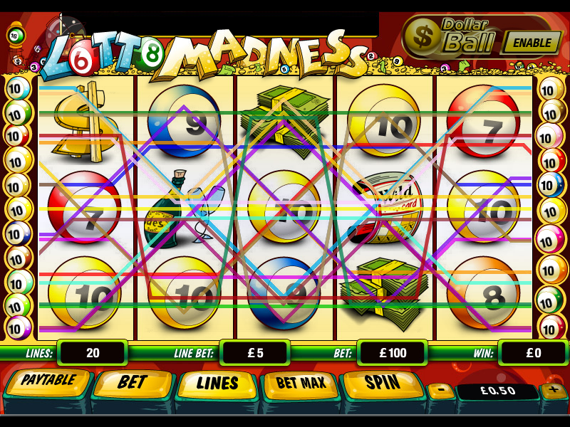 play Lotto Madness online