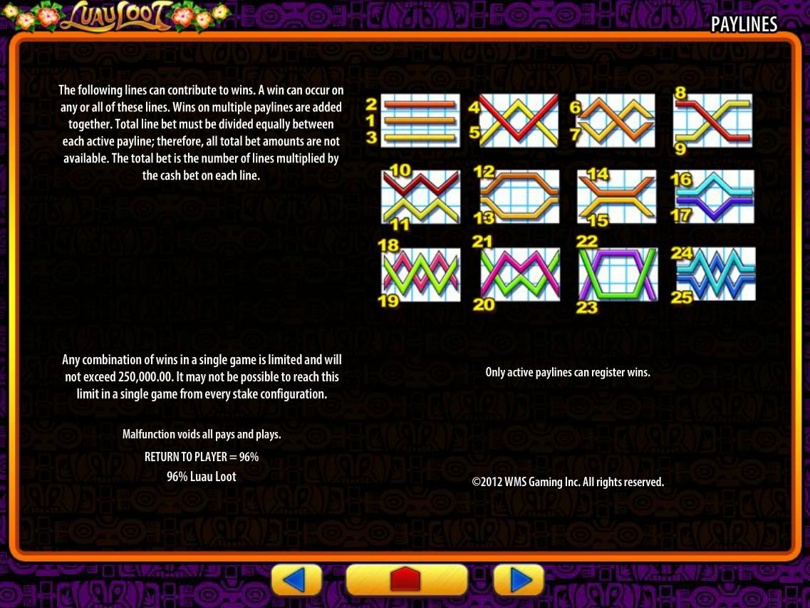 play Luau Loot online