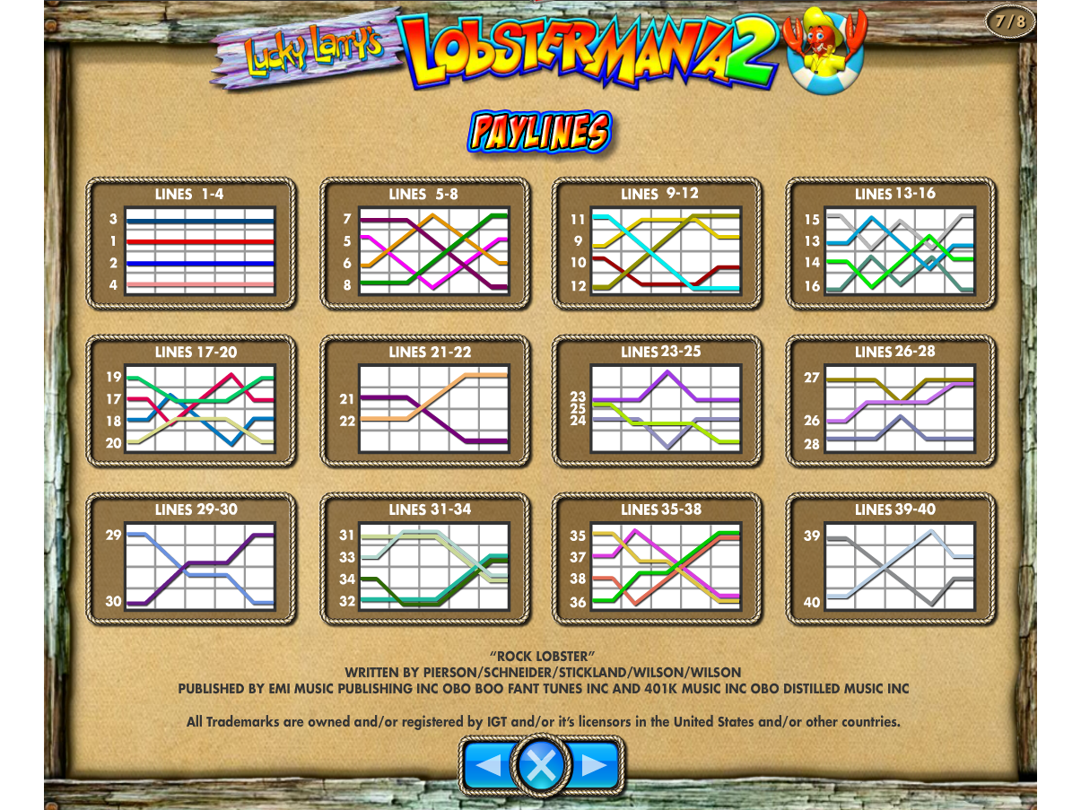 play Lucky Larry's Lobstermania 2 online