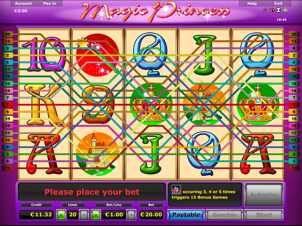 Jetzt Magic Princess online spielen