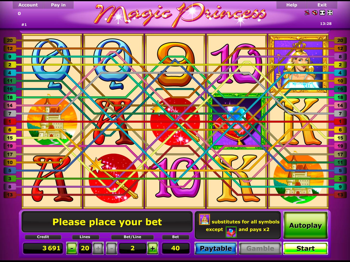 play Magic Princess online