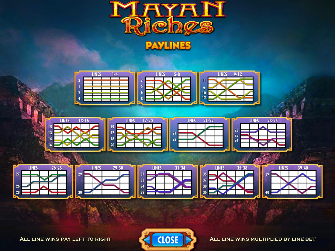play Mayan Riches online