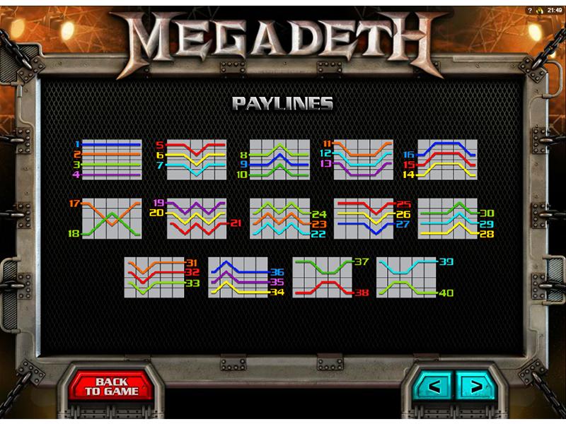 play Megadeth online